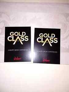 2x GOLD CLASS TICKETS Brighton-le-sands Rockdale Area Preview
