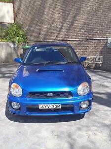 2001 Subaru WRX Katoomba Blue Mountains Preview