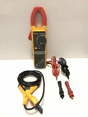 Fluke 381 Remote Display True Rms Acdc Clamp Meter W Iflex