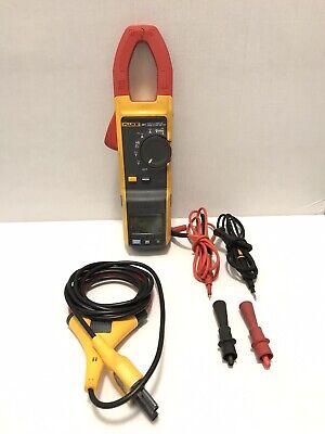 Fluke 381 Remote Display True Rms Acdc Clamp Meter W Iflex