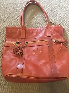 brown leather handbag Manning South Perth Area Preview