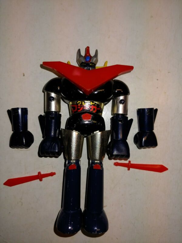 Vintage 70s Metal Shogun Warrior Mazinga,Japan GA-05 Action Figure,Firing Fists