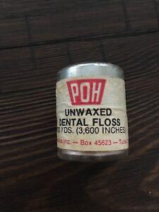 POH Vintage dental floss