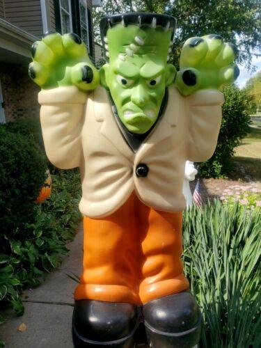"VTG Frankenstein Empire Products Monster Blow Mold Halloween Decoration 36"""