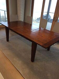 Irish Coast brand reclaimed wood large extension dining table