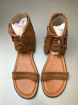 Chaussures plates brunes à franges Minnetonka neuves - Pointure 40 (A)