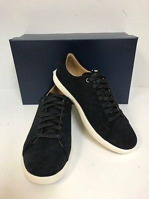 Cole Haan W08781 Grand Crosscourt II Black Suede Laceup Sneaker Womens (Cole Haan Frauen Schuhe)