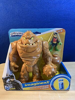 "New Imaginext Batman/DC Super Friends ""CLAYFACE & ROBIN"" Figures w/ Oozing Slime"