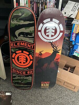 2 element skateboard decks