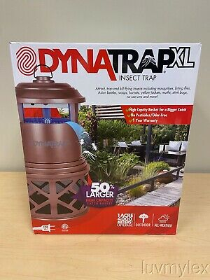 DynaTrap XL Insect Trap for 1 Acre with 2 Lures & 4 Bulbs F1