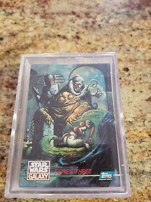 Topps Star Wars Galaxy - 1995 Topps Star Wars Galaxy Series 3 Trading Card Set