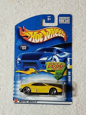 2002  HOT WHEELS #137 FERRARI 348