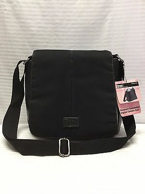 NWT Black Nylon Camcorder, Digital Camera Shoulder Bag, Purse, (Nylon Camcorders)
