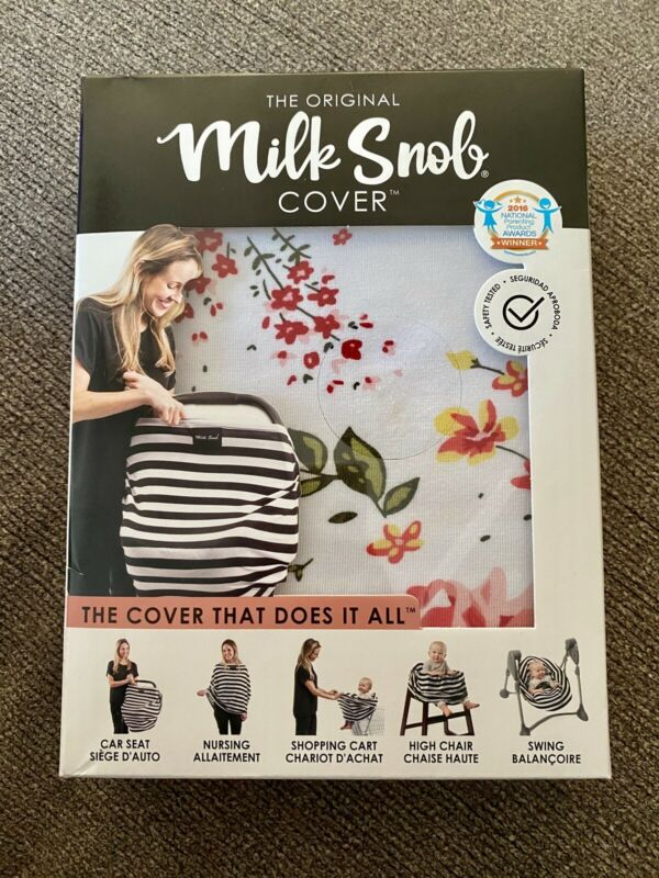 Milk Snob Original Baby Car Seat & Nursing Multipurpose Cover French Floral NEW