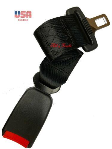 "Extension 14"" Seat Belt Black Extender Belt Extension With Buckle"