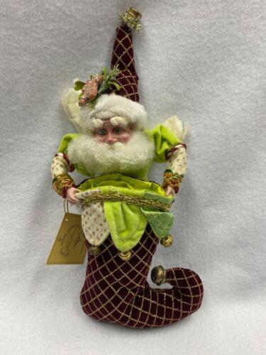 Mark Roberts Santa Gingerbread-Fairy Stocking-NEW!-RARE! (51-27752) Christmas