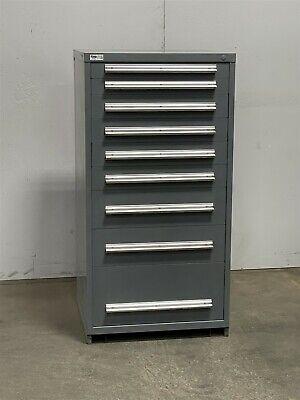 Used Stanley Vidmar 9 Drawer Cabinet Industrial Tool Storage Box 2425