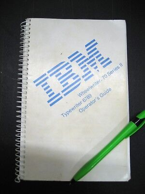 Used Typewriter Manuals See Options Below Oem Ibm Swintec Brother Others