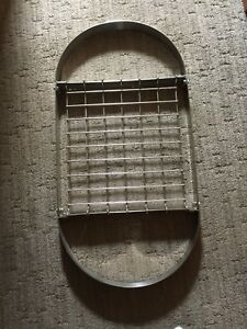 Kitchen Pots & Pans Stainless Steel Display Rack