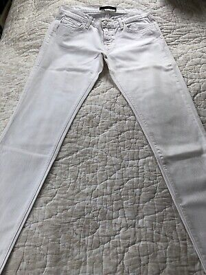 J Brand Ladies White Denim Jeans Size 27