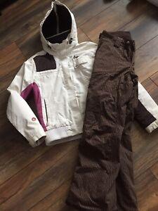 Manteau femme ski Orage Medium/ pantalon ski North Face Medium