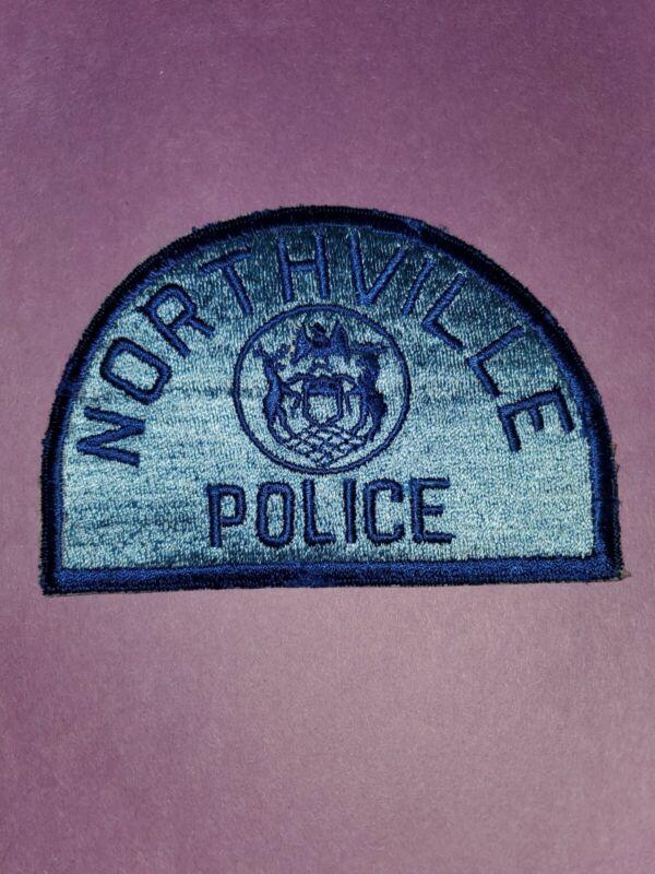 Northville Police shoulder Patch OBSOLETE