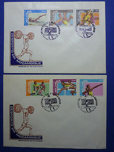 LOT 12184 TIMBRES STAMP ENVELOPPE SPORT ET JO MOZAMBIQUE MOZAMBICO ANNEE 1978 - France - Type: Enveloppe - France