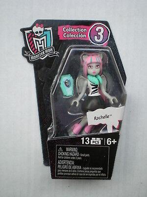 Monster High Rochelle Goyle Mini Doll Collector Figure Toy 2015 Mega Bloks BNIB