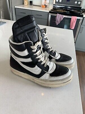 Rick Owens Og Black And White Dunks Replicas? Size 43 Authentic