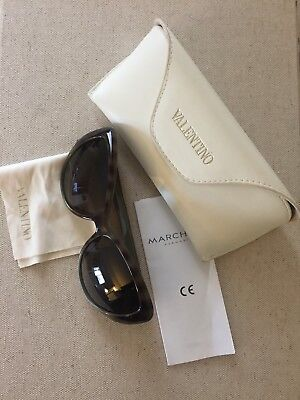 Valentino Cat Eye Sunglasses - Olive Tortoise Shell