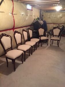 Reupholstered chairs for sale