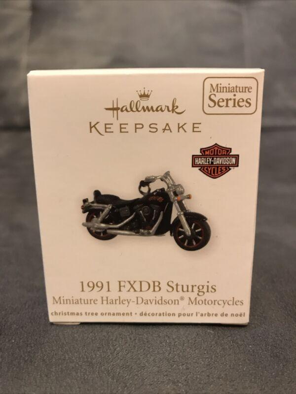 Hallmark Harley-Davidson Motorcycles #13 - 1991 FXDB STURGIS - Miniature 2011