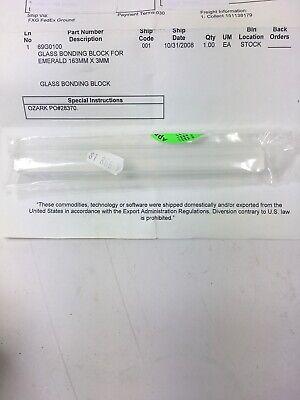Miyachi Unitek 69g0100 Glass Bonding Block For Emerald 163mm X 3mm