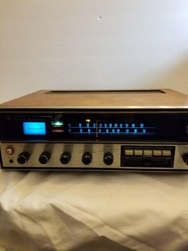 Vintage Kenwood KR-5150 stereo receiver works great
