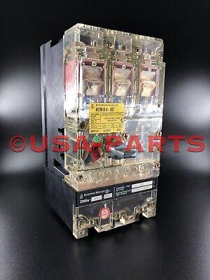 Klockner-moeller Nzm6b - 63 Circuit Breaker 63a 600v 3 Pole Trip Range 260 - 500