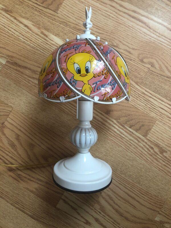 Vintage Tweety Bird Touch Lamp 1998 Warner Bros