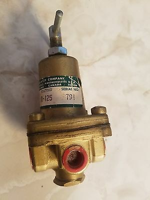 0-125 SCHRADER BELLOWS R75-02C Regulator 1//4 INCH Ports PSIG