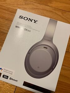 New - Sony WH1000XM3/S, Silver