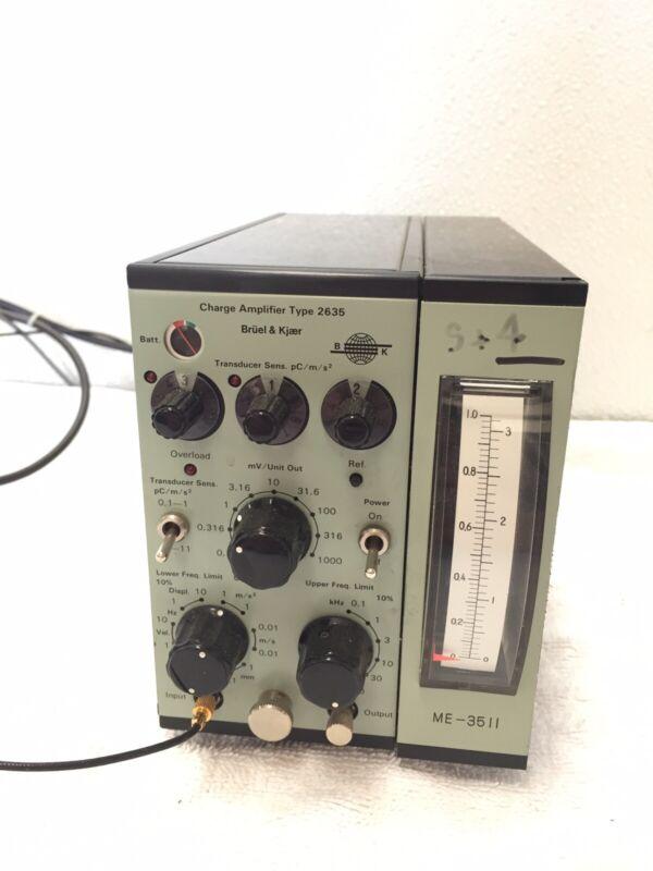 Bruel & Kjaer Type 2635(ME-3511) Charge Amplifier