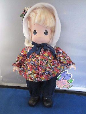 Precious Moments doll Jasmine January Garden of Friends NWT