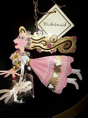 NEW Fanciful Flight BRIDESMAID WEDDING PARTY PERFECT GIFT Ornament Silvestri - Fanciful Gifts