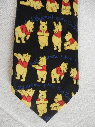 WINNIE THE POOH Official Disney Store Necktie