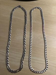 Silver chains for sale