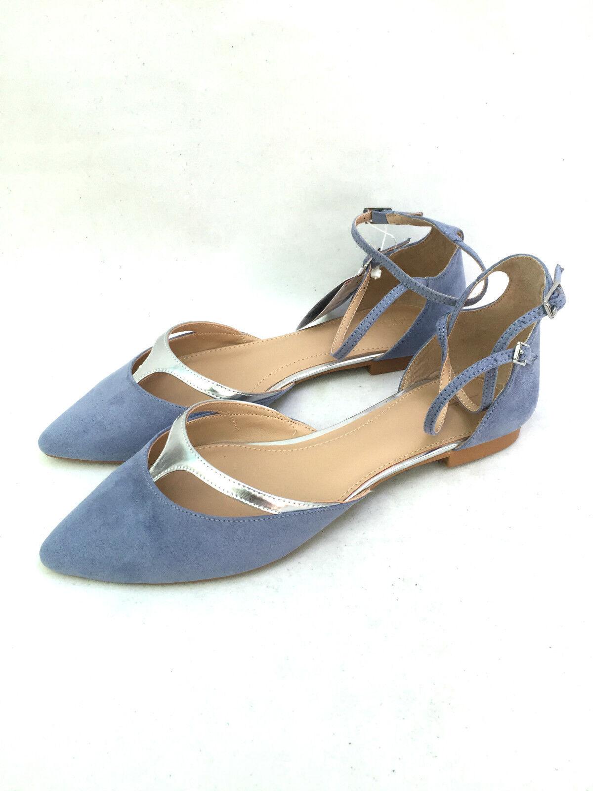 ZARA Basse VAMPIRA Scarpe con cinturino alla Caviglia Taglia uk6/EU 39/us8