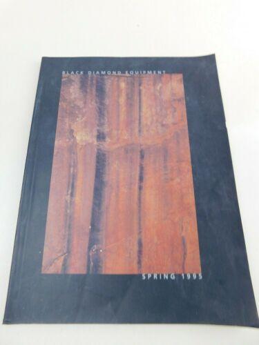 1995 Spring Black Diamond Equipment Catalog Climbing Catalog