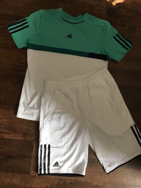 Adidas Youth Tennis Shirts & Shorts M(10/12)
