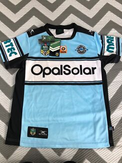 Wanted: Cronulla Sharks 2017 Home Jersey Authentic - BNWT