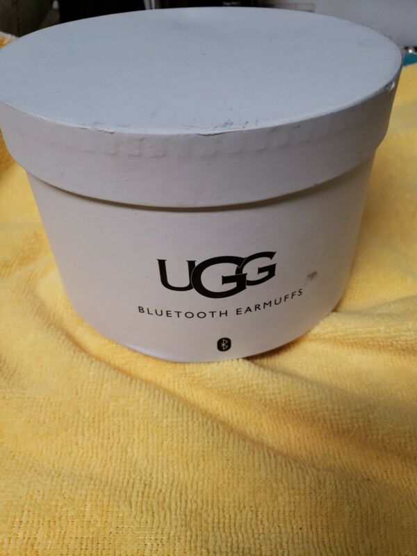 UGG Sheepskin Bluetooth Earmuffs Water-Resistant Charcoal Brand New with Tags