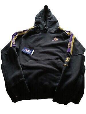 NBA NIKE Lakers black hoodie M