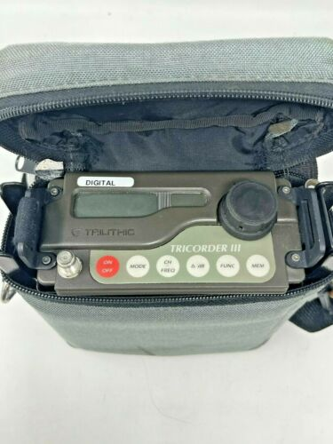 Trilithic Tricorder III Signal Level Meter Leakage Detector With Case